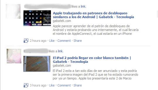 Like Me Gusta Facebook