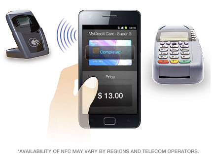 Samsung Galaxy S II con tecnologia NFC - Tecnologia de pagos moviles
