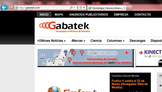 Gabatek IE 9