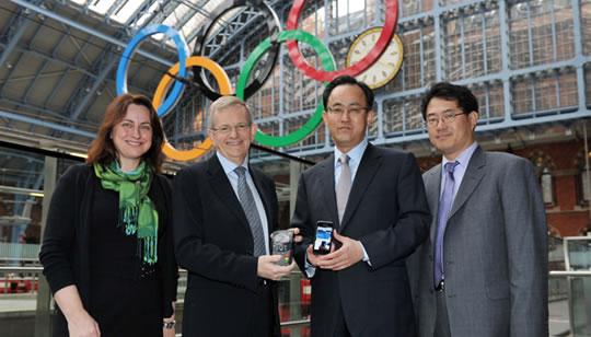 Samsung y Visa para pagoas moviles con tecnologia NFC - Olimpicos Londres 2012
