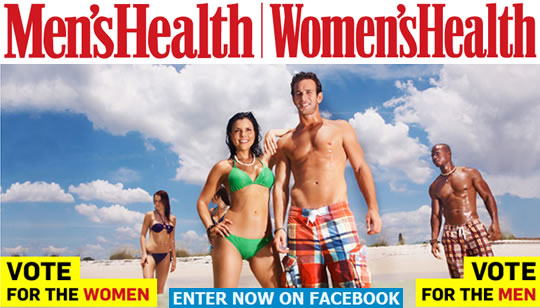 Concurso Facebook Mens Health y Womens Health