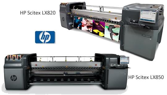 HP Scitex LX820 y HP Scitex LX850 - HP Latex Printing Technologies