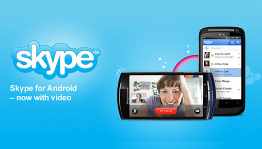 Skype Video para Android
