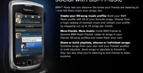 BlackBerry BBM Music
