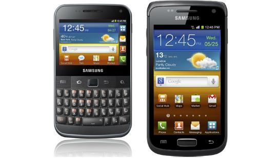 Galaxy W Galaxy M Pro Galaxy Y y Galaxy Pro