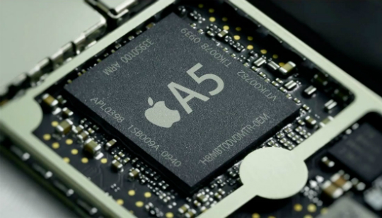 Apple A5 iPhone iPad