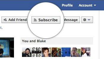 Suscribir Facebook