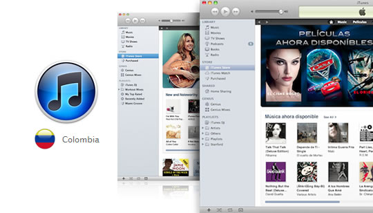 iTunes Store - Colombia