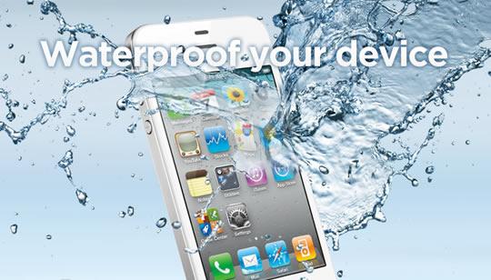 Teléfono resistente al agua