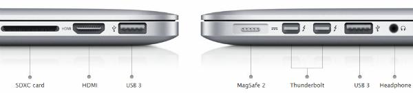 Conexión MacBook Pro