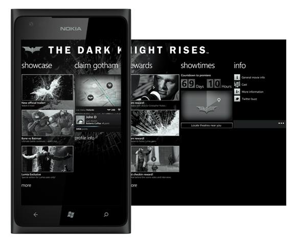 Lumia 900 The Dark Night Rises
