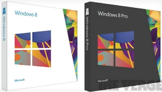 Windows 8 Empaque