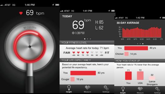 iPhone Pulso Cardíaco