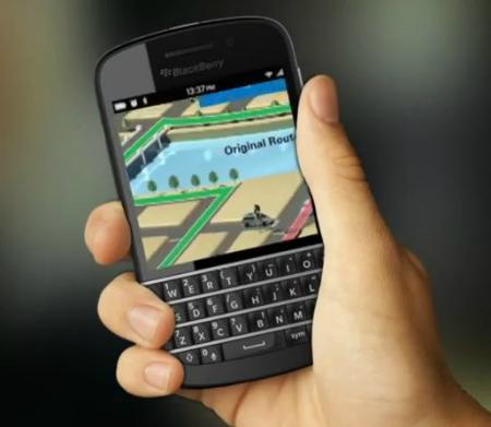 BlackBerry10 con Teclado