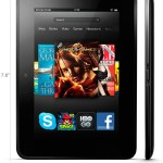 Kindle Fire HD 7 Dimensiones