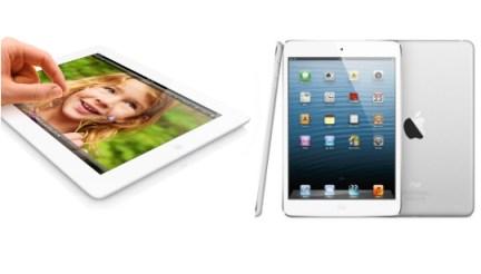 iPad Mini vs iPad 3 vs iPad 4