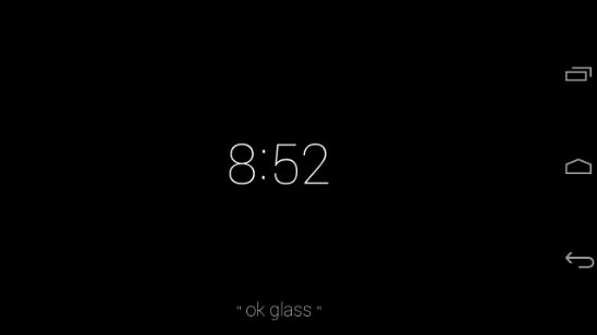 Google Glass en Celular Android