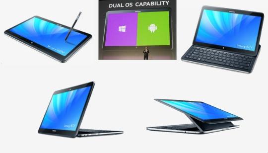 Samsung Ativ Q Android Windows