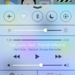 iOS 7 Centro de Control