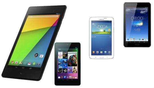 Comparación nuevo Nexus 7