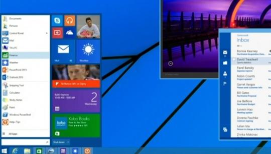 Windows 8 Menu de Inicio
