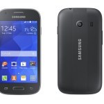 Samsung Galaxy Ace Style Frente Negro