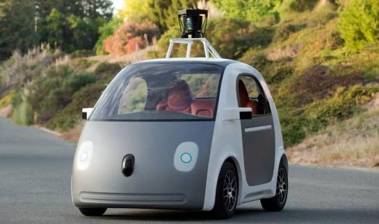 Carro autonomo Google foto