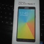 Samsung Galaxy Note 4 caja