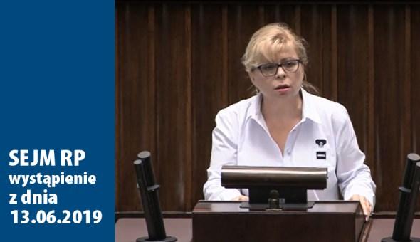 www w sejmie czołowka wystapienie-13.06.2019