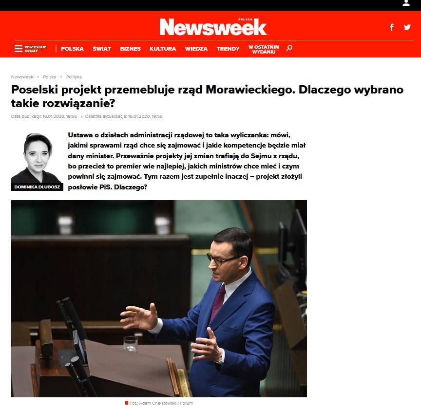 newsweek 18.01.2020