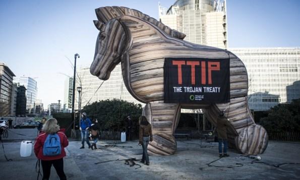 protesta anti TTIP