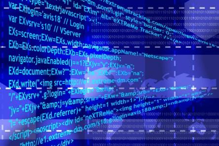 internet source code - cyberspace