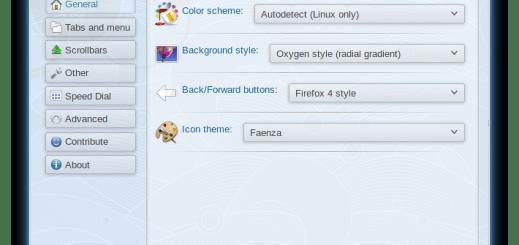 Oxygen KDE Firefox 9