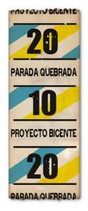 Invitación Parada Quebrada en Tilcara