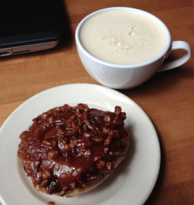 Sticky Bun and Chai