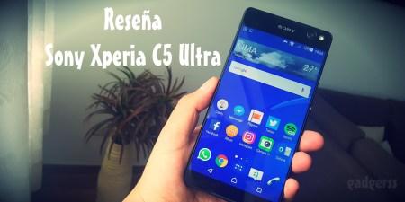 Reseña: Sony Xperia C5 Ultra