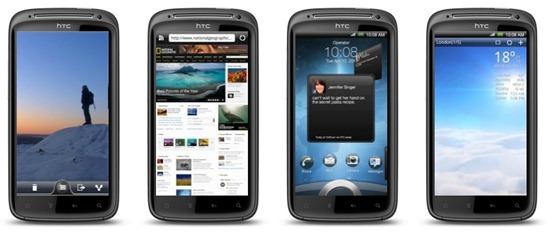 HTC sensation New UI