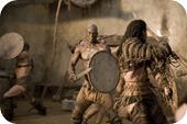 Gladiatores luchando