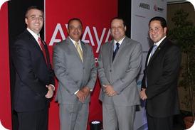 Ejecutivos de Avaya y WindTelecom new