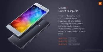 Xiaomi Mi Note 2 resmi Rilis: Layar Lengkung, RAM 6GB dan Kamera 23MP 3