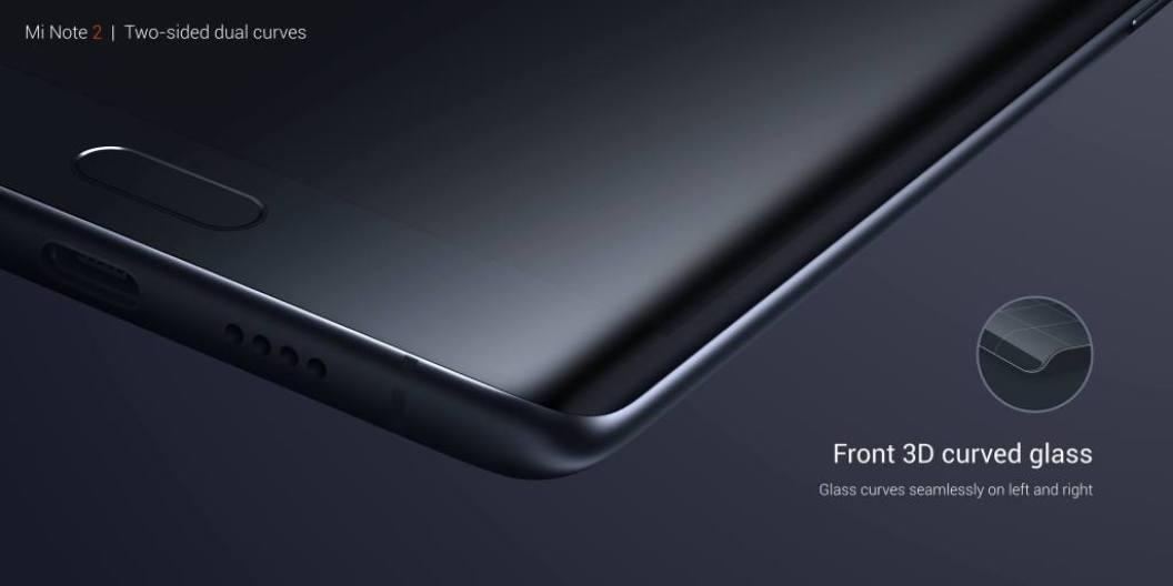 Xiaomi Mi Note 2 resmi Rilis: Layar Lengkung, RAM 6GB dan Kamera 23MP 6