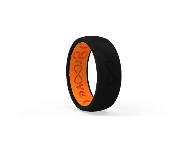 groove silicone rings active silicone wedding bands that breathe silicone wedding ring Groove Silicone Rings Active Silicone Wedding Bands that Breathe