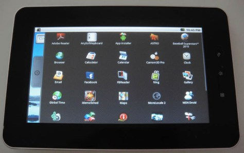 Cherrypad - $180 Android Tablet