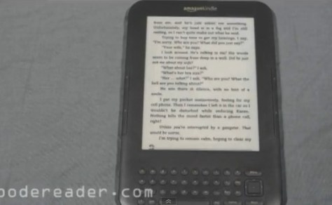 No ads while reading a book - Amazon Kindle Special Edition with Sponsored Screensavers