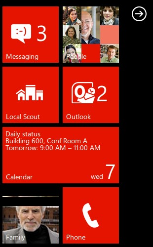 Windows Phone 7 demo on Android & iOS