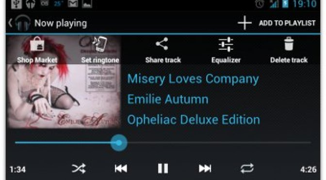 Download / Install CyanogenMod 9 Music Player for Android - Now Playing