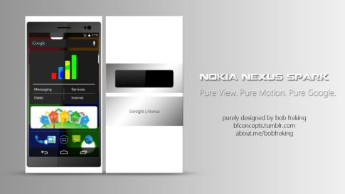 Nokia Nexus Spark Concept - 41 MP Camera