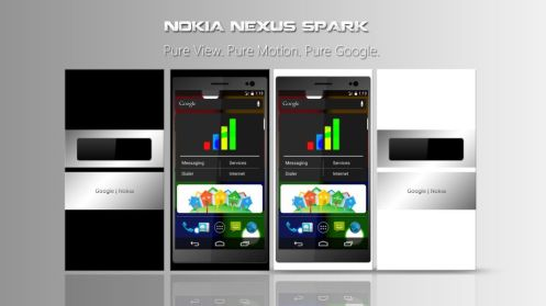 Nokia Nexus Spark Concept Runs - Powered by a Quad-core processor