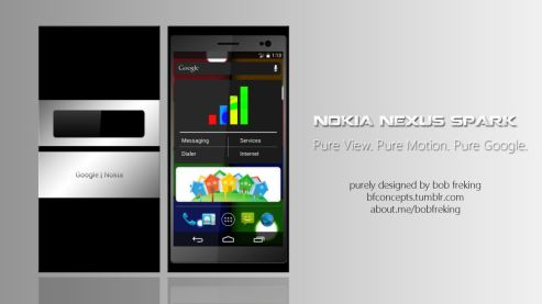 Nokia Nexus Spark Concept Runs on Android 5.0