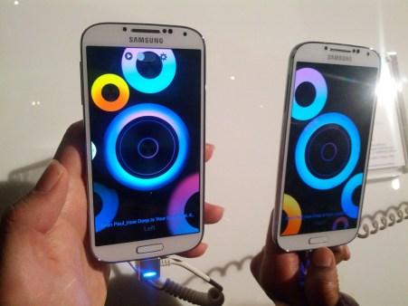 Samsung Galaxy S4 display review